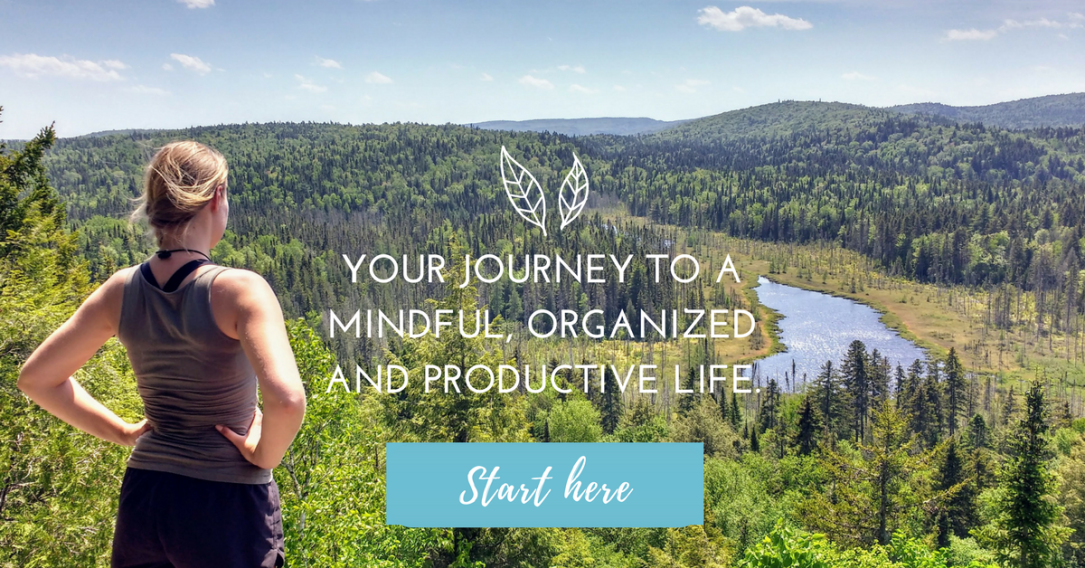 Journey. Mindful. Organized. Productive. Printables. Planner. Blueprints. Workbook